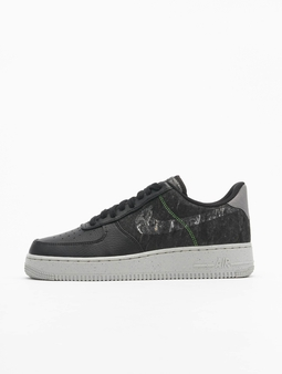 Nike Air Force 1 '07 LV8 Sneakers Black/Clear/Electric Green/Light Bone