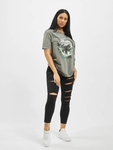 Missguided The Wanderer Eagle Graphic T-Shirt Dark Grey image number 4