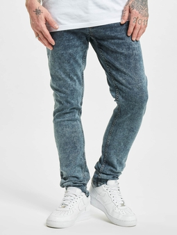 2Y Wilmington  Slim Fit Jeans blå