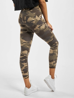 Freddy Skinny Jeans Camo/Green/Brown