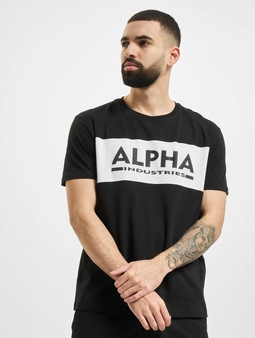 Alpha Industries Inlay T-Shirt Black