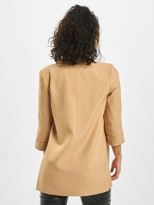 Missguided Co Ord Price Point Basic Blazer Camel image number 1