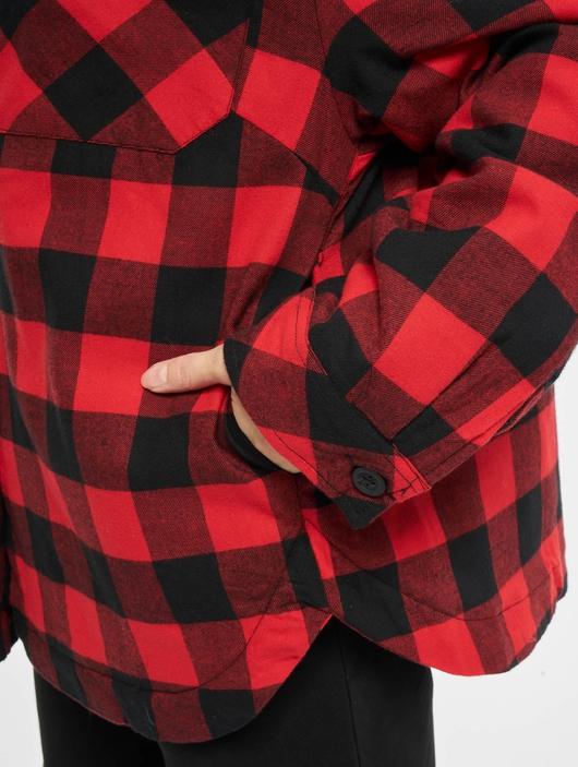 Urban Classics Ladies Flanell Padded Overshirt  Lightweight Jackets image number 5