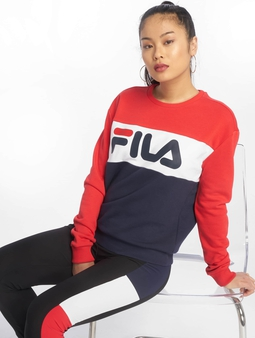 Fila Urban Line Leah Sweatshirt Black Iris/Light Grey/Bright