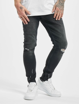 2Y Charles Slim Fit  Jeans Black