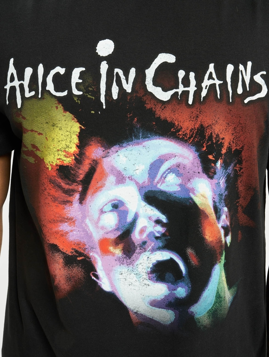 Merchcode Alice In Chains Facelift T-Shirt Black image number 3