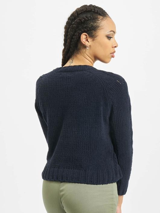 Only onlIvy O-Neck Knit Pullover Sky Captain image number 1