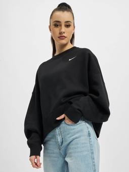 Nike Fleece Trend Longsleeve Black/White