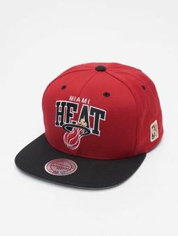 Mitchell & Ness NBA Team Arch 2 Tone Snapback Miami Heat Snapback Cap