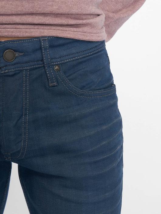 Jack & Jones jjiTim jjOriginal Noos Slim Fit Jeans Blue Denim image number 3