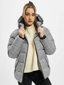 Urban Classics Ladies AOP Glencheck Puffer Jacket
