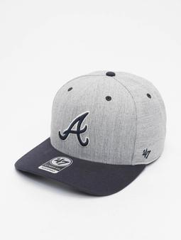 '47 MLB Atlanta Braves Storm Cloud MVP DP Snapback Cap