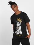 Merchcode Biggie Crown Child T-Shirt Black image number 1