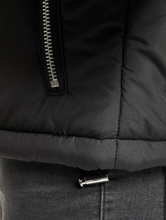 Urban Classics Oversized High Neck Jacket White image number 4