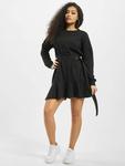 Missguided Frill Hem Sweater Dress Black image number 4