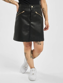 Only onlHeidi Faux Leather Skirt
