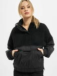 Urban Classics Ladies Sherpa Mix Pull Over Winter Jackets image number 0