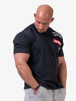Nebbia Basic  T-skjorter svart