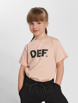 DEF Sizza T-Shirt Rose