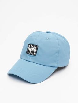 Keine Liebe Nylon  Snapback Caps blå