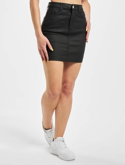 Missguided Petite Coated Superstretch Mini Skirt
