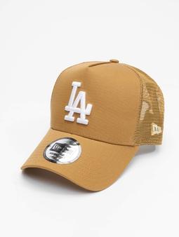 New Era Mlb Properties Los Angeles Dodgers Tonal Mesh Trucker Cap White