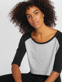 Urban Classics Cropped 3/4 Raglan T-Shirt