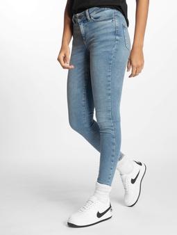 Noisy May nmLucy Normal Waist Skinny Jeans Medium Blue Denim