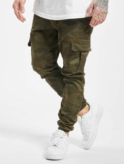 Urban Classics Camo  Chino bukser oliven