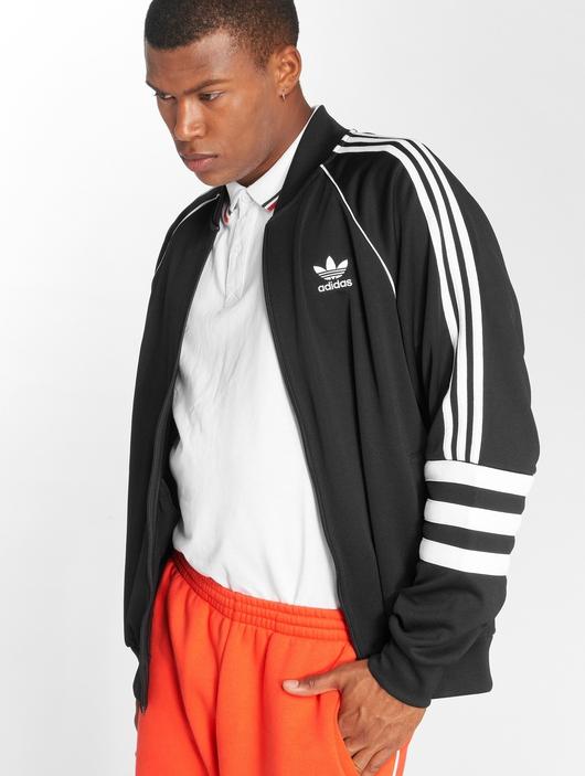Adidas Originals Auth Tt Transition Jacket Black image number 1
