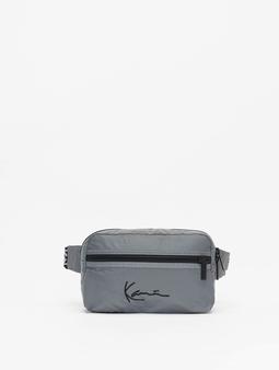 Karl Kani Kk Signature Tape Bags sølv