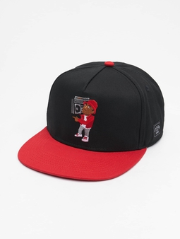 Cayler & Sons Wl Gbt Cali Cap Snapback Cap Black/Red