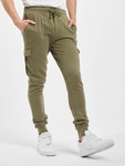 Urban Classics Fitted Cargo Sweatpants Olive image number 2