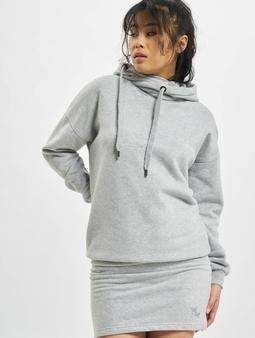 Just Rhyse Cross Lake Hoody Dress Grey Melange