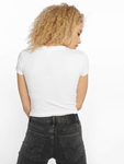 Urban Classics Stretch Jersey Cropped T-Shirt Black image number 1