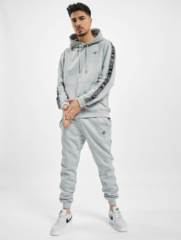 Sik Silk Fleece Overhead Hoody Sweat Suit