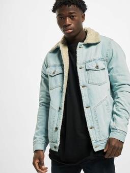 Urban Classics Sherpa Lined Jeans Jacket