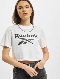 Reebok Identity Crop T-skjorter hvit