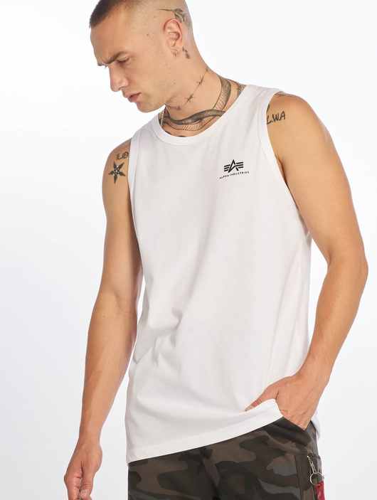 Alpha Industries Small Logo Tank Top Black image number 0