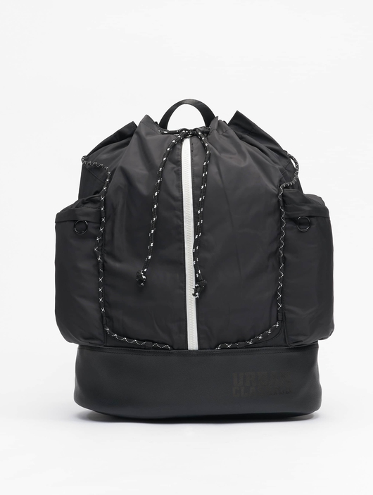 Urban Classics Light Weight Hiking Backpack Black/White image number 0