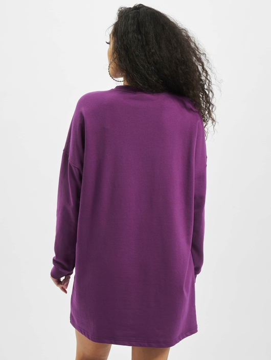 Missguided Oversized Sweater Edition Longsleeve Dress Purple image number 1