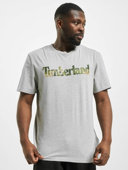 Timberland Ft Linear T-Shirt Medium Grey Heather