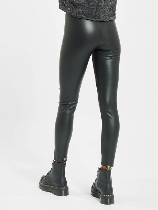 Only onlSuper-Star PU Leggings Black image number 1
