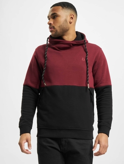 Just Rhyse Lincoln Hoody Burgundy Black