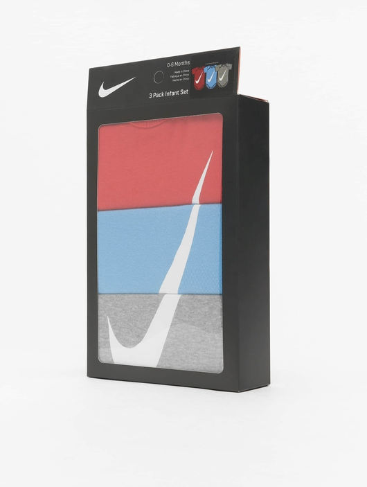Nike Swoosh S/S Bodysuit 3 Pack University Red image number 2