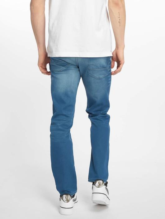 Jack & Jones jjiTim jjLeon Slim Fit Jeans Blue Denim image number 1