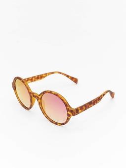 Masterdis Retro Funk Polarized Mirror Sunglasses Havanna/Rose