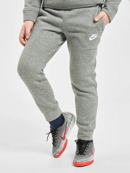 Nike Club Fleece Rib Cuff Joggebukser grå
