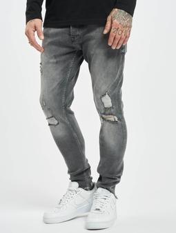 2Y Carlos Slim Fit Jeans Grey