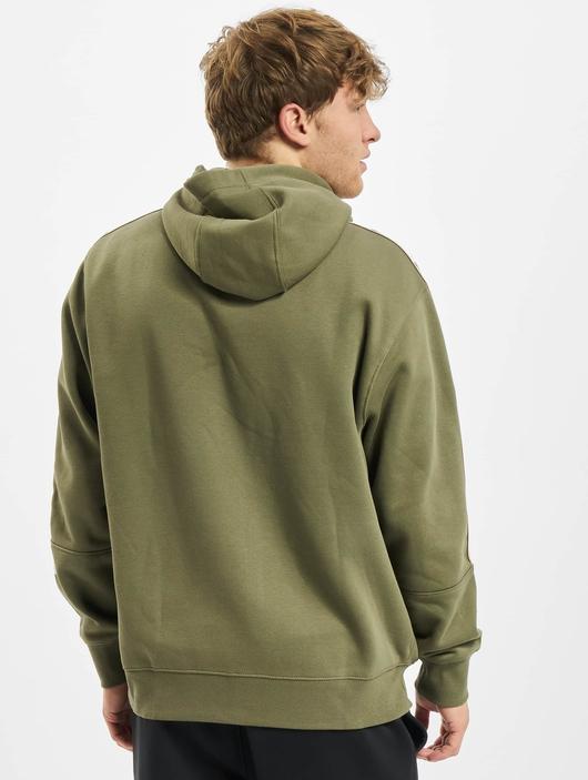 Nike Repeat Fleece Full Zip Hoodie Black/Reflective Silvern image number 1